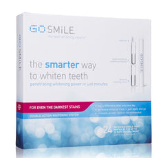 GO SMiLE DOUBLE ACTION TEETH WHITENING SYSTEM 24 Ampoules