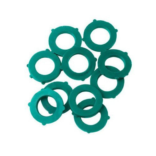 01CW10GT 10-Pack Green Thumb Hose Washers