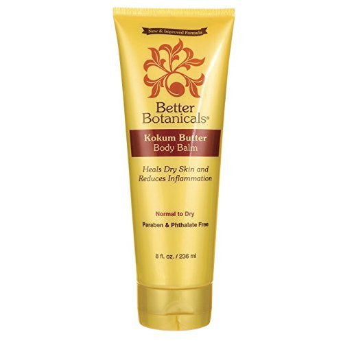 Better Botanicals: Kokum Butter Body Balm Normal to Dry Skyn, 8 oz