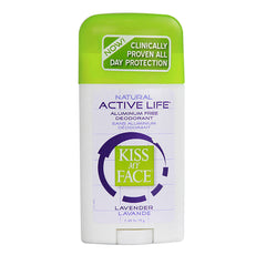 Kiss My Face ACTIVE LIFE DEODORANT STICK (Lavender) (2.48oz) 71g
