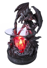 1 X Dual Dragons and Castle Electric Oil Warmer