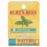 Soothing Lip Balm with Eucalyptus in Blister Box Burt's Bees 0.15 oz Lip Balm