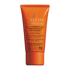 COLLISTAR Anti-Wrinkle Tanning Face Treatment SPF 15 50ml