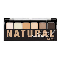 NYX The Natural Shadow Palette 6g