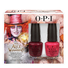 OPI Nail Lacquer - Alice In Wonderland Collection -Â Mad Hatter Duo Pack