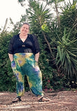 Not a Mermaid | Adult Parachute Lounge Pants Sewing Pattern & Tutorial US Letter