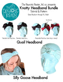 Knotty Headband Bundle Pattern & Tutorial - A4