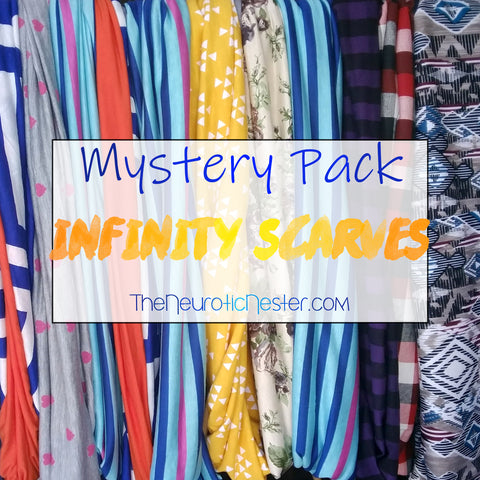 Mystery Pack Infinity Scarves, Adult One Size