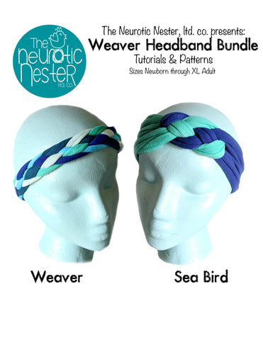 Weaver Bundle Headband Pattern & Tutorial - A4