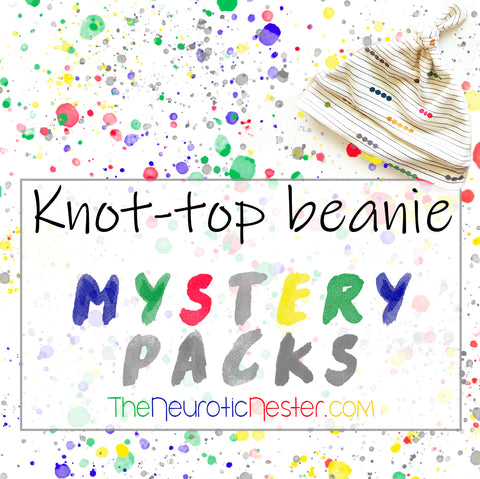 Mystery Pack Top Knot Beanies