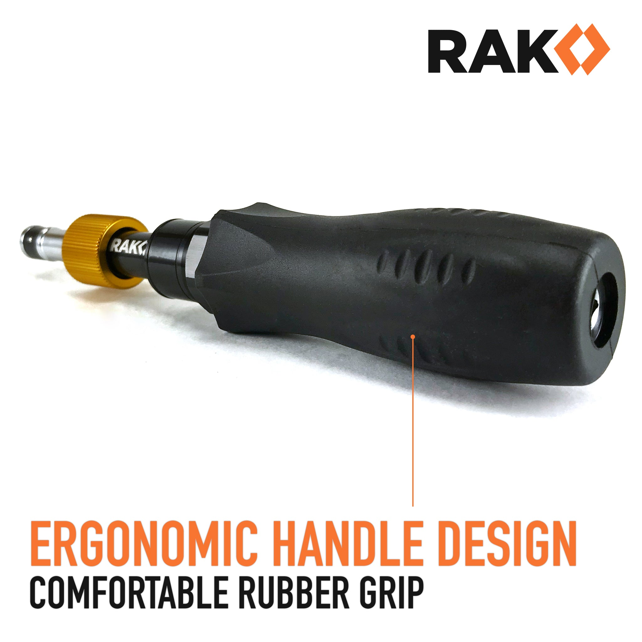 RAK Precision Torque Screwdriver Set with 1/4-Inch Hex Drive - Extremely  Accurate 1 Inch-Lb (0 11 Nm) Increment Torque Screw Driver with 10 to 50
