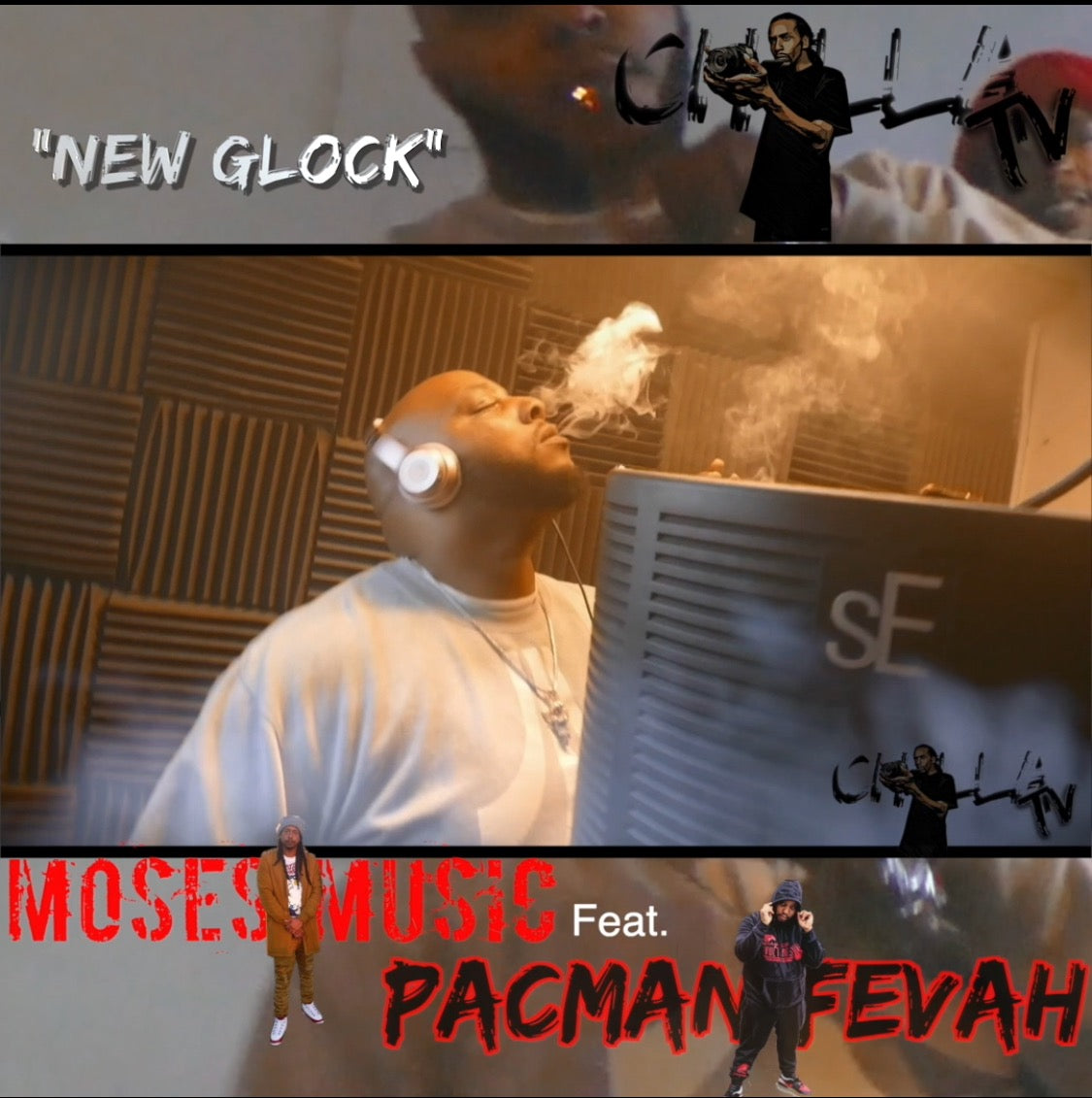 """New Glock"" by Moses Music ft. Pacman Fevah"