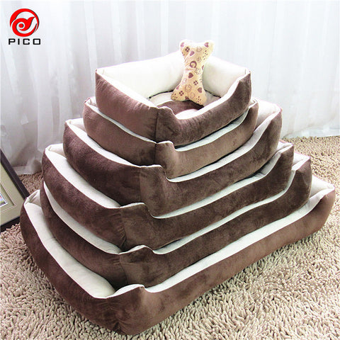 A no-frills comfortable bed for both small and large pets - there is definitely a size to suit.