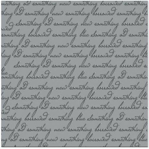 Wedding 12x12 scrapbook paper- Wedded #7