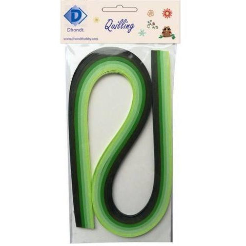 Dhondt Hobby Quilling Strips pack - Green