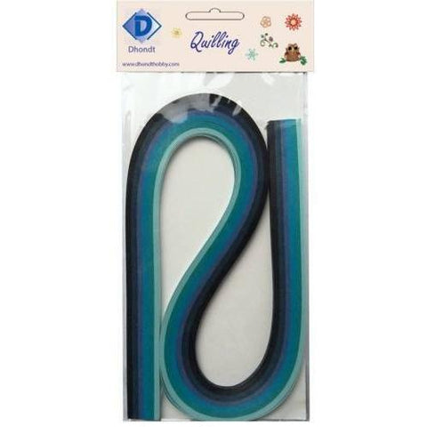 Dhondt Hobby Quilling Strips pack - Blue