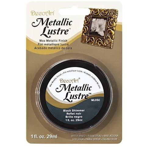 DecoArt Metallic Lustre – Black Shimmer