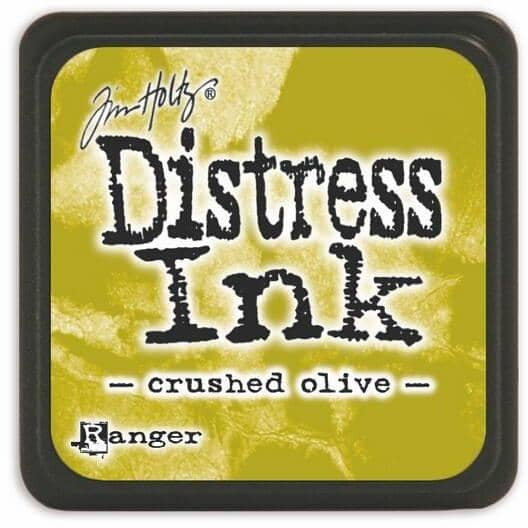 Tim Holtz Distress Mini Ink pad - Crushed Olive
