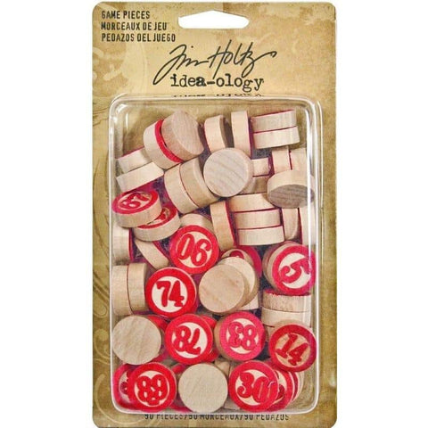 Tim Holtz Idea-ology  - Game Pieces