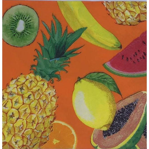 Decoupage Napkin - Tropical Fruits