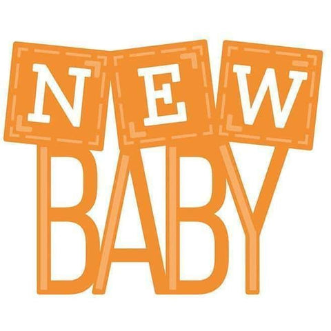 Tonic Studios Die Set New Baby