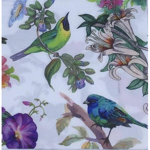 Decoupage Napkin - Perched Birds