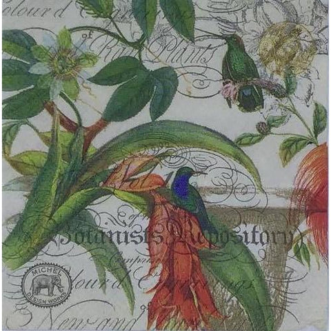 Decoupage Napkin - The Botanist
