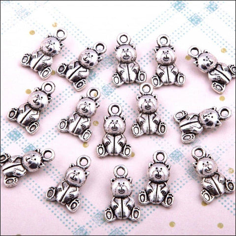 Hobby House Metal Charms - Teddies