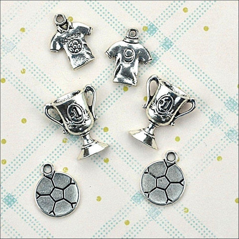 Hobby House Metal Charms - Football Crazy