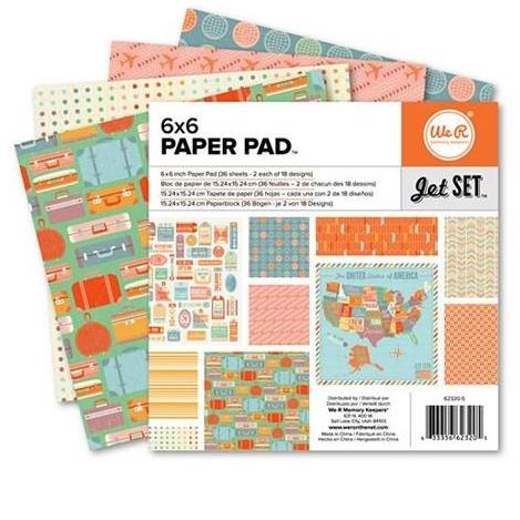 We R Memory Keepers 6x6 paper pad - Jet Set
