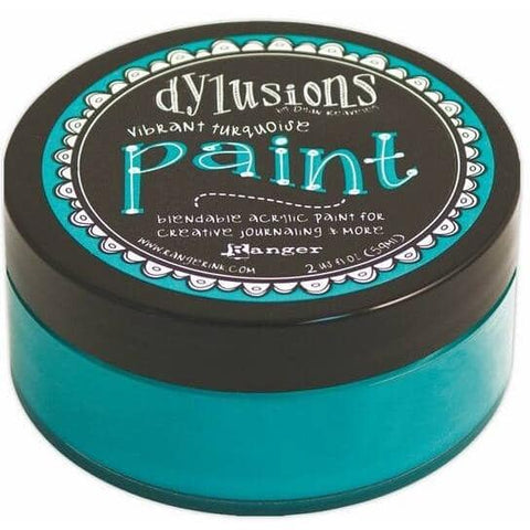 Dylusions Paints - Vibrant Turquoise