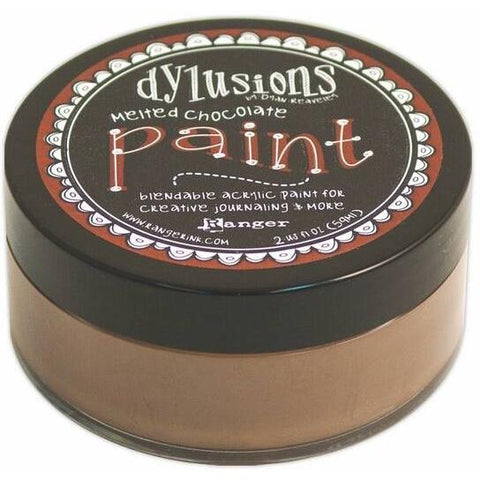 Dylusions Paints - Melted Chocolate