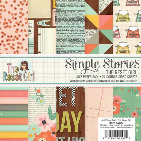 Simple Stories 6x6 paper pad -The Reset Girl