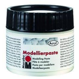 Marabu Modelling Paste - Silver 100ml