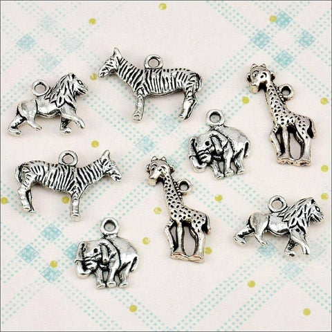 The Hobby House Metal Charms & Spacers - Safari
