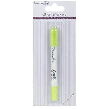 Dovecraft Chalk Markers - Neons Yellow