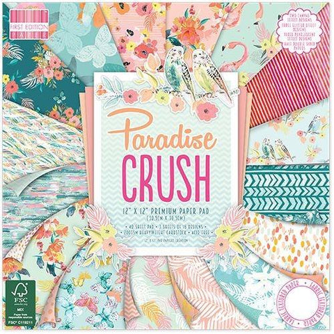 First Edition 12x12 Paper Pad - Paradise Crush