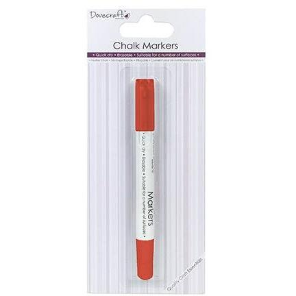 Dovecraft Chalk Markers - Red