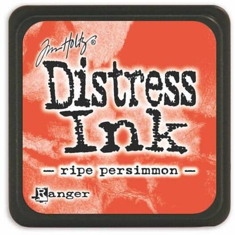 Tim Holtz Distress Mini Ink pad - Ripe Persimmon