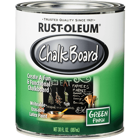 Rustoleum Brush-on Paint - Chalkboard Green