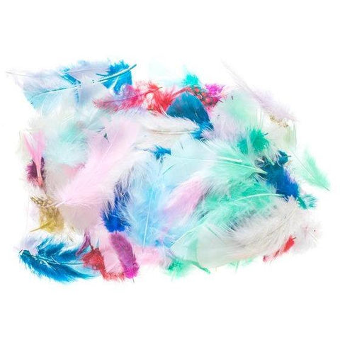 Marabou Feathers Exotic Assorted 10g