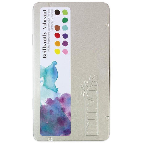 Nuvo Watercolour Pencils - Brilliantly Vibrant