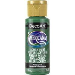 DecoArt Americana Acrylic Paint 2oz - Forest Green