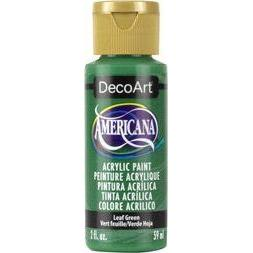 DecoArt Americana Acrylic Paint 2oz - Leaf Green