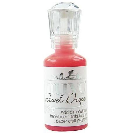 Nuvo Jewel Drops - Strawberry Coulis