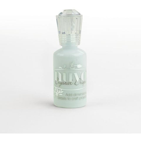 Nuvo Crystal Drops Gloss - Duck Egg Blue