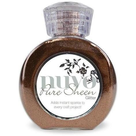 Nuvo Pure Sheen Glitter - Copper