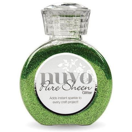 Nuvo Pure Sheen Glitter - Green Meadow