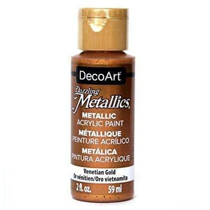 DecoArt Metallics Paint - Venetians Gold 2oz