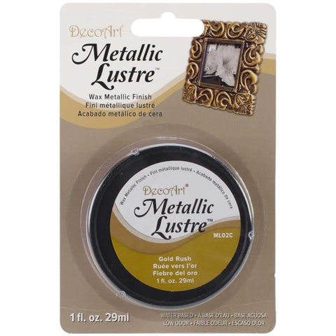 DecoArt Metallic Lustre – Gold Rush